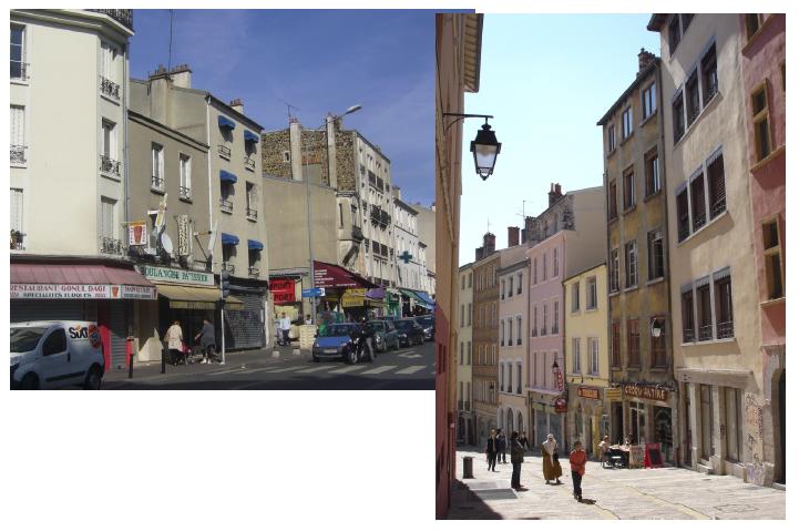 Figure 2 4 la rue de paris dans le bas montreuil gauche et la mont e de la grande c te - Subway porte de montreuil ...