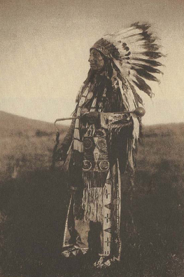 E.S.Curtis, High Hawk, sioux Brûlé, 1908.