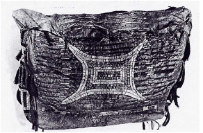 Sac brodé aux piquants, Dakota, vers 1850, in Brasser Ted ed.,